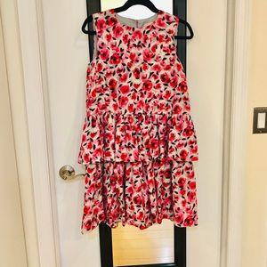 Rare! Kate spade tiered rosebud dress size 4